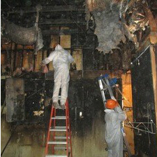 уборка дома после пожара в москве