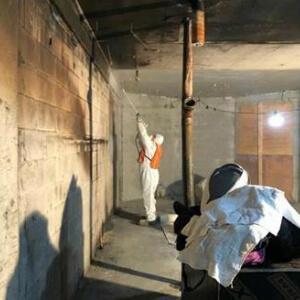 чистка после пожара