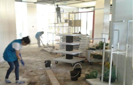 уборка магазина после ремонта в спб